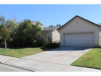 Palmdale Single Family Home For Sale: 2436 Estrella Court