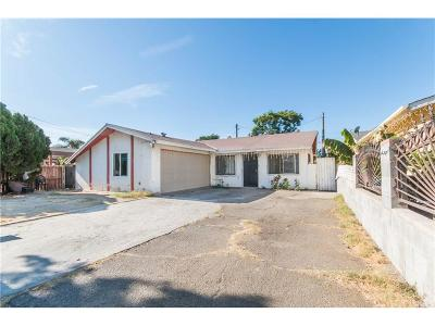 Los Angeles Single Family Home For Sale: 9875 Lev Avenue
