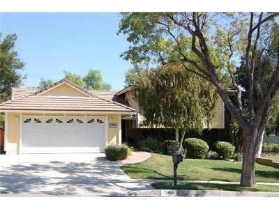 Agoura Hills Single Family Home For Sale: 5466 Lake Lindero Drive