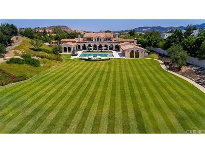 Calabasas CA Single Family Home For Sale: $15,000,000