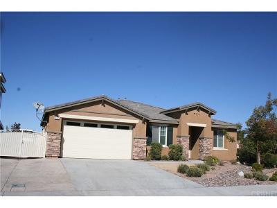 Palmdale Single Family Home For Sale: 5757 Kiblurn High Rd