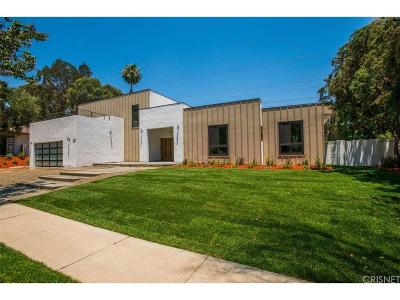 Tarzana Single Family Home For Sale: 18609 Palomino Drive