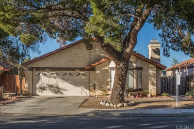 Palmdale Single Family Home For Sale: 3523 Acorde Avenue