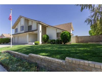Valencia Single Family Home For Sale: 24342 Vista Hills Drive