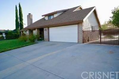 Lancaster Single Family Home For Sale: 44044 Precise Street