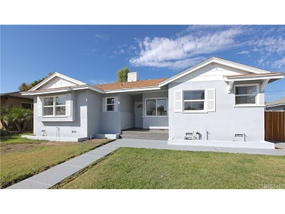 Tarzana Single Family Home For Sale: 6163 Tampa Avenue