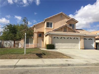 Palmdale Single Family Home For Sale: 37107 Pine Valley Court