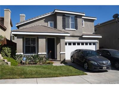 Saugus Single Family Home For Sale: 28328 Willow Court