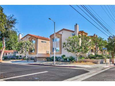 Sherman Oaks Condo/Townhouse For Sale: 14351 Magnolia Boulevard #1