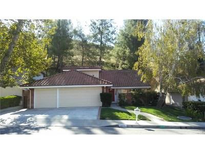 Agoura Hills Single Family Home For Sale: 28830 Eagleton Street
