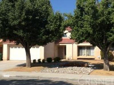 Lancaster Single Family Home For Sale: 44343 Soft Avenue