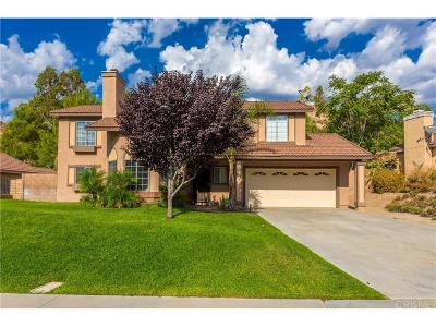 Canyon Country Single Family Home For Sale: 29403 Poppy Meadow Street