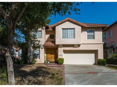 Newhall Single Family Home For Sale: 23823 Valley Oak Court