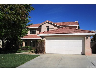 Palmdale Single Family Home For Sale: 3145 Margate Place