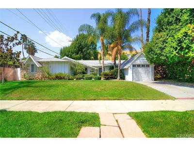 Woodland Hills Single Family Home For Sale: 23209 Bigler Street