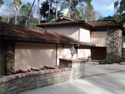 Tarzana Rental For Rent: 4638 La Barca Drive