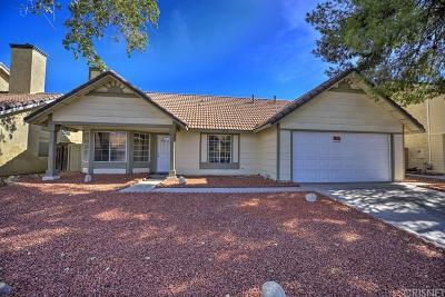 Palmdale Single Family Home For Sale: 37514 Hudson Street