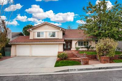 West Hills Single Family Home For Sale: 24516 Indian Hill Lane