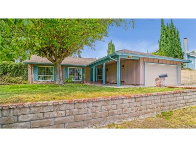 Canyon Country Single Family Home For Sale: 28925 Lotusgarden Drive