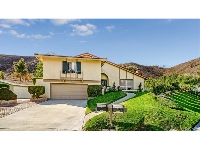 Newhall Single Family Home For Sale: 18934 Tenderfoot Trail Road