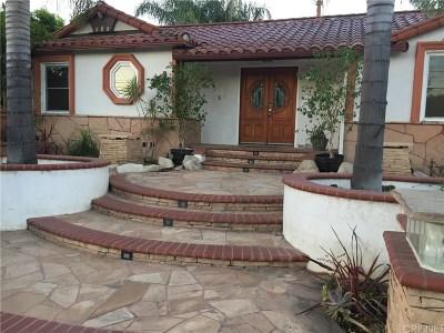 Northridge Single Family Home For Sale: 16732 Lassen Street
