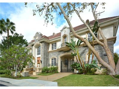 Tarzana Single Family Home For Sale: 19265 Allandale Drive