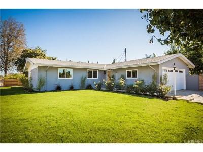 Canoga Park Single Family Home For Sale: 22326 Valerio Street