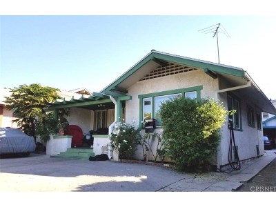 Los Angeles CA Single Family Home For Sale: $1,295,000