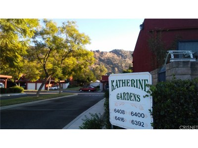 Simi Valley Condo/Townhouse For Sale: 6416 Katherine Road #B