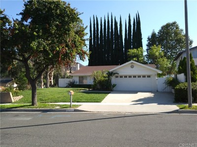 Agoura Hills Single Family Home For Sale: 30604 Passageway Place