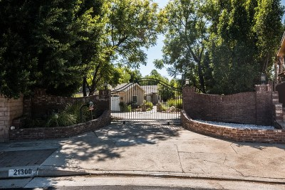 Chatsworth Single Family Home For Sale: 21300 Bermuda Street