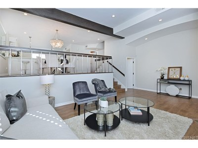 West Hollywood Condo/Townhouse For Sale: 1414 North Harper Avenue #5