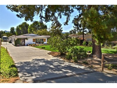 Simi Valley Single Family Home For Sale: 4524 Adam Road