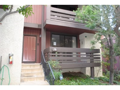 Woodland Hills Condo/Townhouse For Sale: 21930 Marylee Street #78
