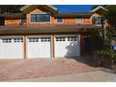 Encino Single Family Home For Sale: 17101 Oak View Drive