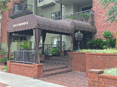 Pasadena Condo/Townhouse For Sale: 330 Cordova Street #144