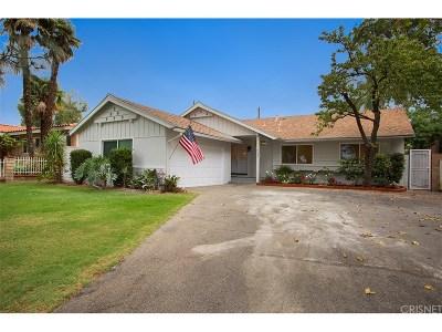 Northridge Single Family Home For Sale: 9754 Yolanda Avenue