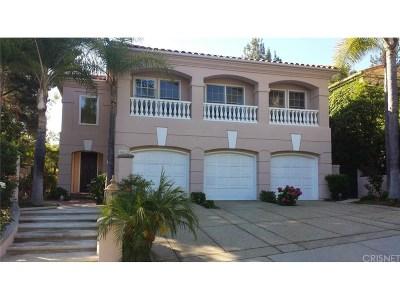 Calabasas Single Family Home For Sale: 4242 Park Verdi