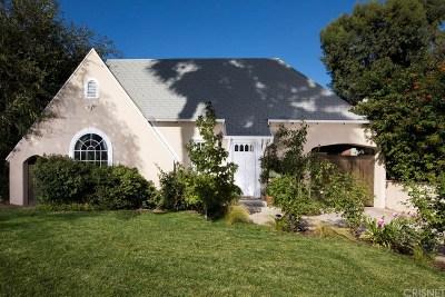 Toluca Lake Single Family Home For Sale: 11107 Kling Street