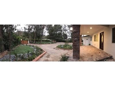 Shadow Hills Single Family Home For Sale: 9815 Sunland Boulevard