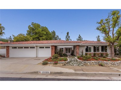 West Hills Single Family Home For Sale: 23809 Posey Lane