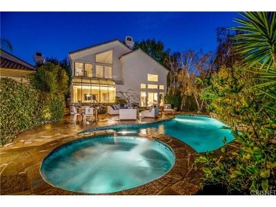 Calabasas Single Family Home For Sale: 4359 Park Monte Nord