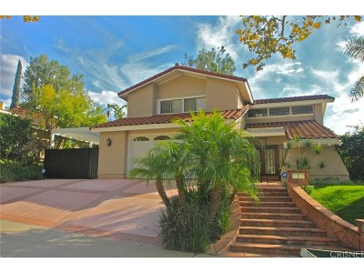 Simi Valley Single Family Home For Sale: 5388 Indian Hills Drive