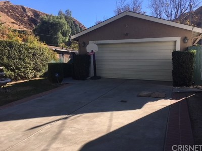 Castaic Single Family Home For Sale: 30708 Arlington Street