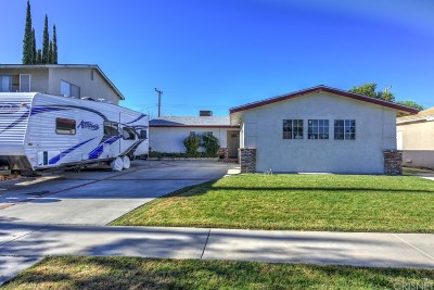 Saugus Single Family Home For Sale: 27341 Arriola Avenue