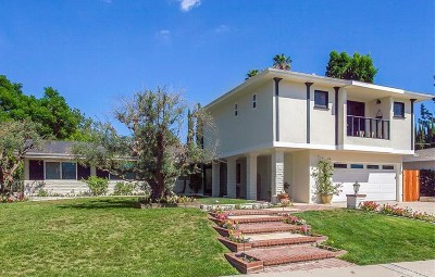 Woodland Hills Single Family Home For Sale: 21815 San Miguel Street