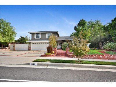 West Hills Single Family Home For Sale: 8326 Woodlake Avenue