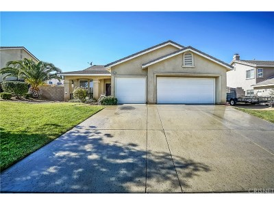 Quartz Hill Single Family Home For Sale: 42229 57th Street West