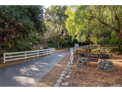 Single Family Home For Sale: 25775 Vista Verde Drive
