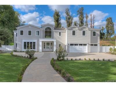 Tarzana Single Family Home For Sale: 4605 Vanalden Avenue